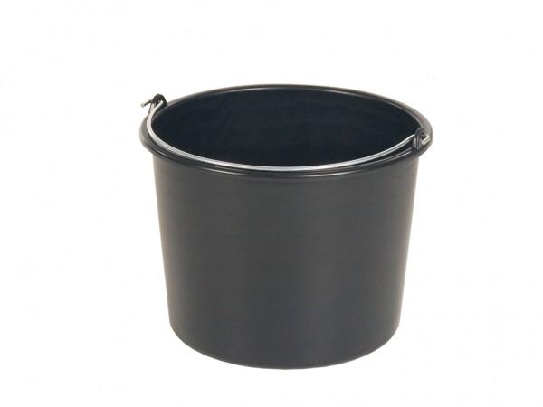 Eimer aus Kunststoff 20 Liter - normal duty - Schwarz
