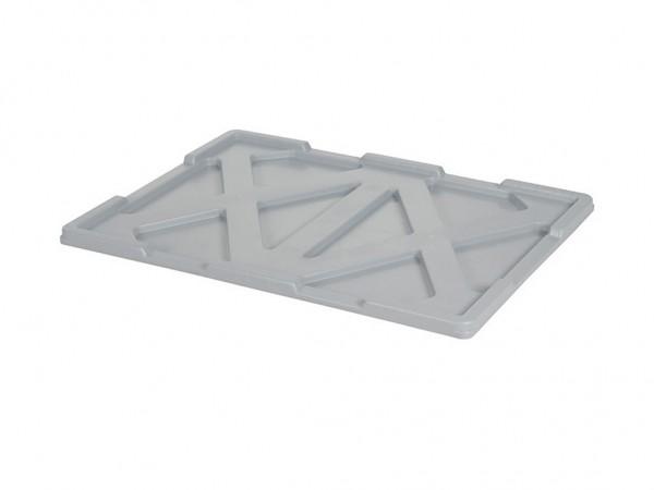 Aufliegedeckel 800x600mm - Grau