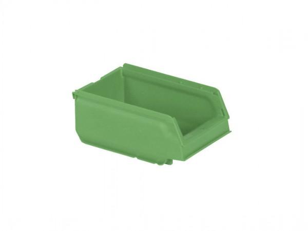 Sichtlagerkasten Kunststoff - 170x105xH75mm - Grün