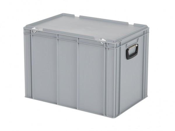 Kunststoffkoffer - 600x400xH439mm - Grau