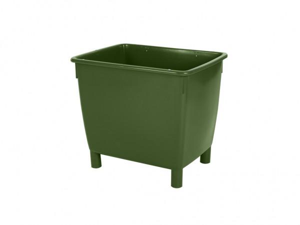 Transportbehälter 210 Liter - auf 4 Füßen - Grün