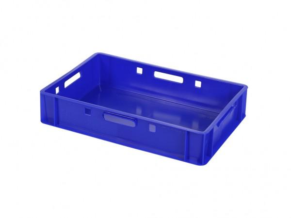 Stapelbehälter E1 - 600x400xH125mm - Blau