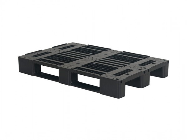 Kunststoff Europalette - D1 ECO - 1200 x 800 mm (mit Rand)