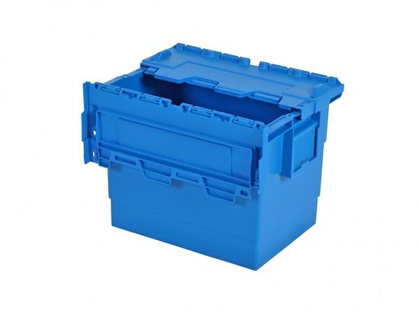 Distributionsbehälter - Mehrwegbehälter - 400x300xH315mm - Blau
