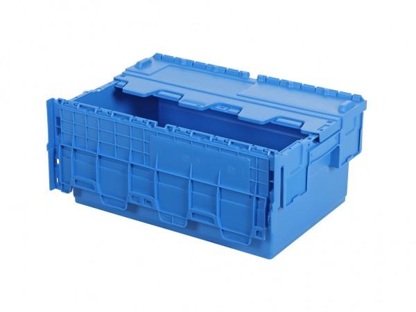 Distributionsbehälter - Mehrwegbehälter - 600x400xH265mm - Blau