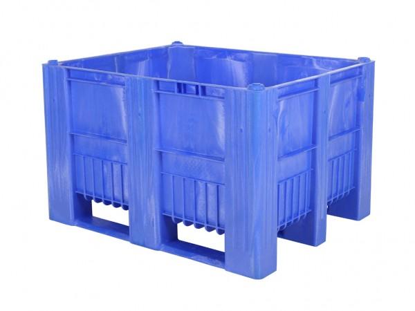 CB3 Palettenbox - 1200x1000mm - 3 Kufen - Blau