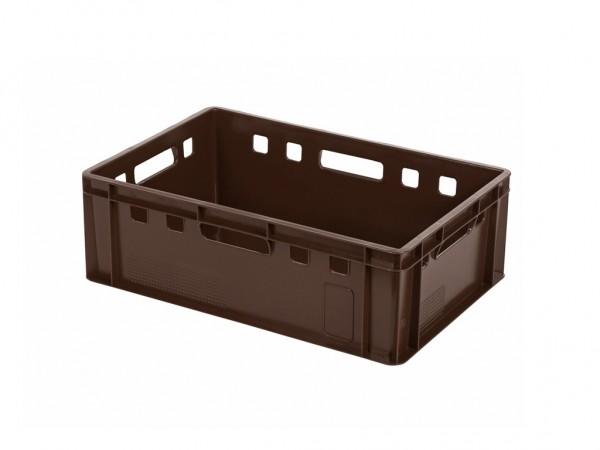 Stapelbehälter E2 - 600x400xH200mm - Braun