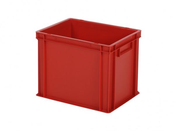 Stapelbehälter - Tellerbehälter - 400x300xH320mm - Rot
