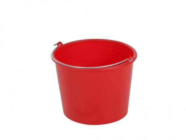 Eimer aus Kunststoff 12 Liter - normal duty - Rot