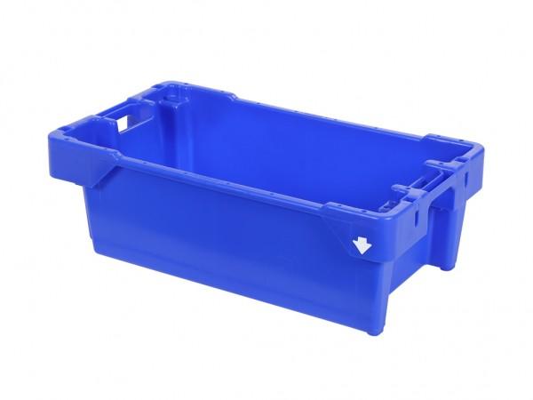 Fischkasten - 800x450xH270mm - 40kg - 60l - Blau