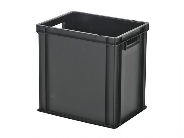 Stapelbehälter - Tellerbehälter - 400x300xH400mm - Schwarz