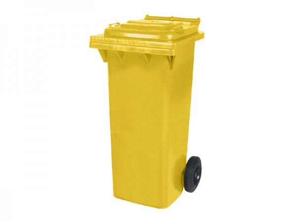 Mülltonne - 80 Liter - Gelb