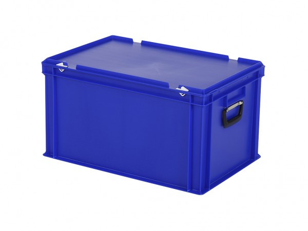 Kunststoffkoffer - 600x400xH335mm - Blau