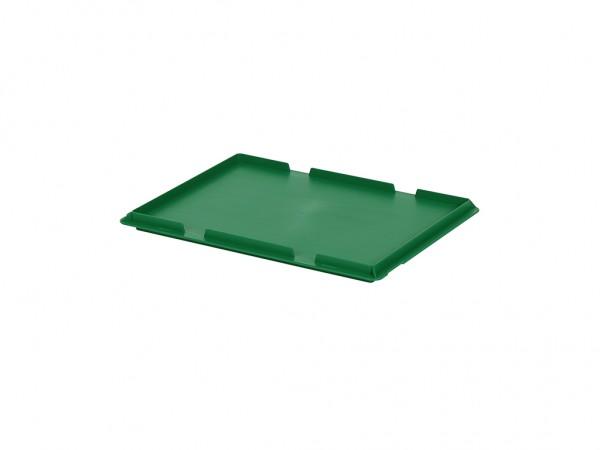 Scharnierdeckel 400x300mm - Grün