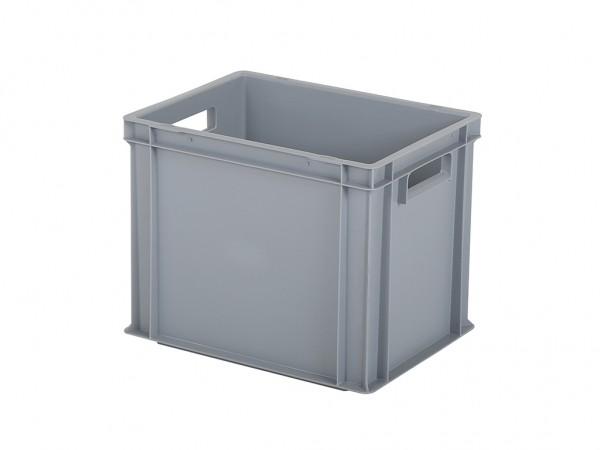 SALE - Stapelbehälter - Tellerbehälter - 400x300xH320mm - Grau