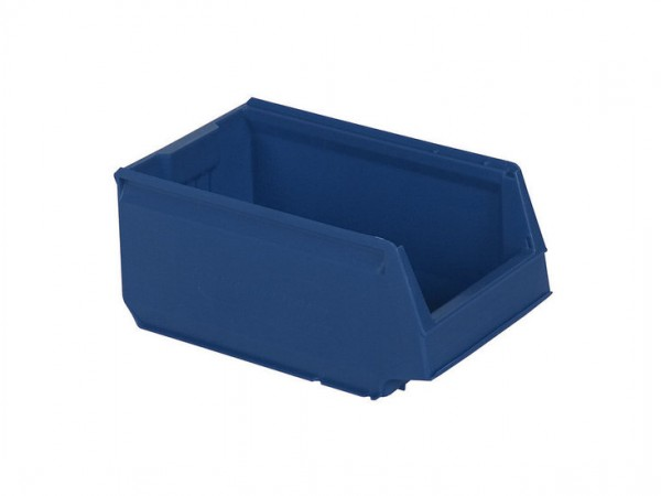 Sichtlagerkasten Kunststoff - 350x206xH150mm - Blau
