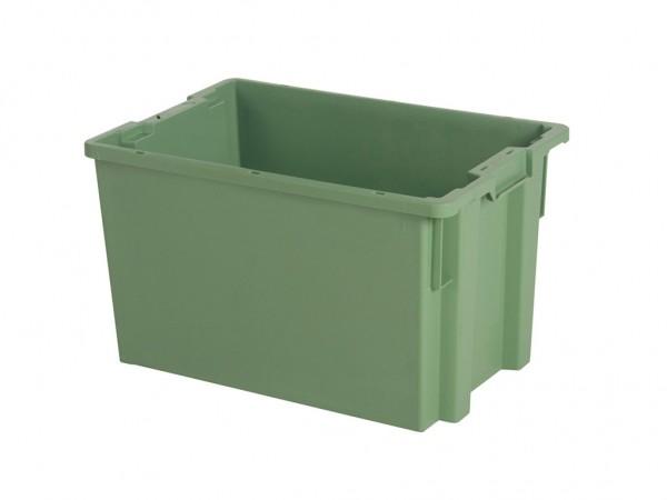 Stapel-nestbarer Behälter - 600x400xH350mm - Grün