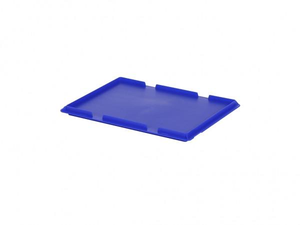 Scharnierdeckel 400x300mm - Blau