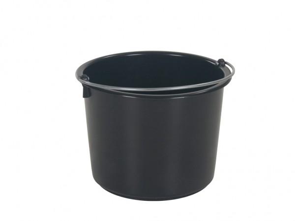 Eimer aus Kunststoff 20 Liter - heavy duty - Schwarz