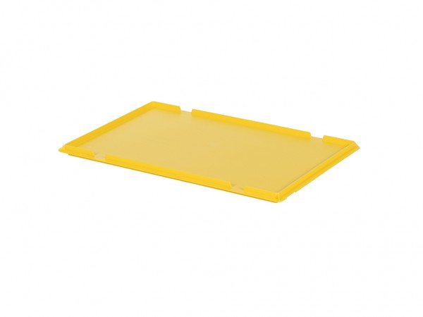 Scharnierdeckel 600x400mm - Gelb