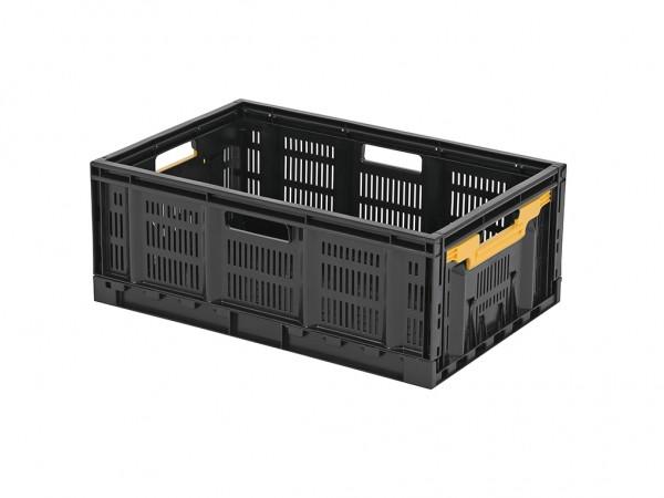 FRESH BOX Faltbehälter - 600x400xH233 mm - Schwarz