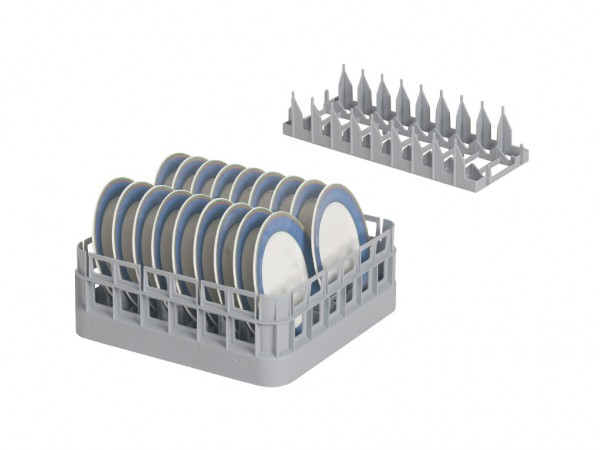 Tellereinsatz PI 400 - für Bistrokörbe 400x400mm und 500x500mm