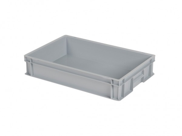 Stapelbehälter - 600x400xH120mm - Grau