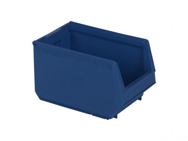 Sichtlagerkasten Kunststoff - 350x206xH200mm - Blau