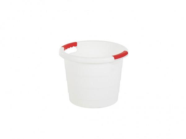 Bottich, 30 Liter - normal duty - Weiß