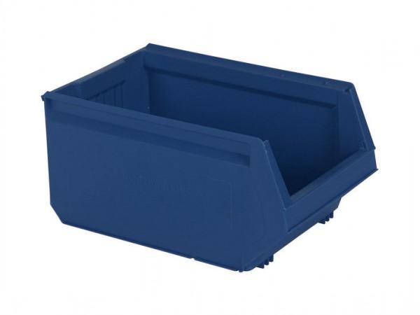 Sichtlagerkasten Kunststoff - 500x310xH250mm - Blau