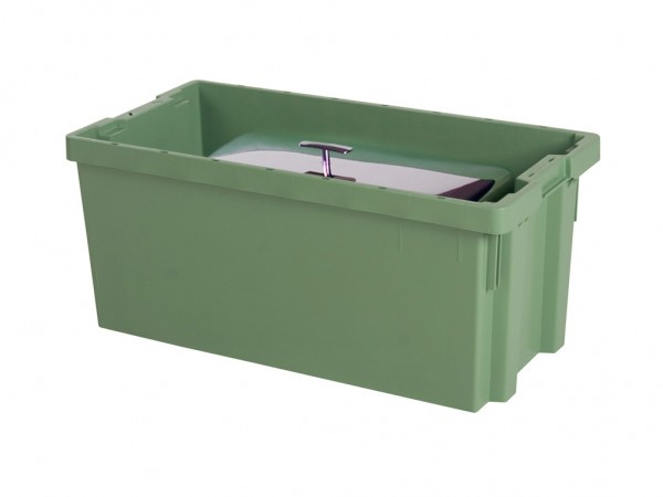 Stapel-nestbarer Behälter - 800x400xH350mm - Grün