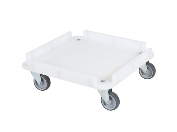 Transportroller - Rollwagen für Spülkörbe 500x500mm
