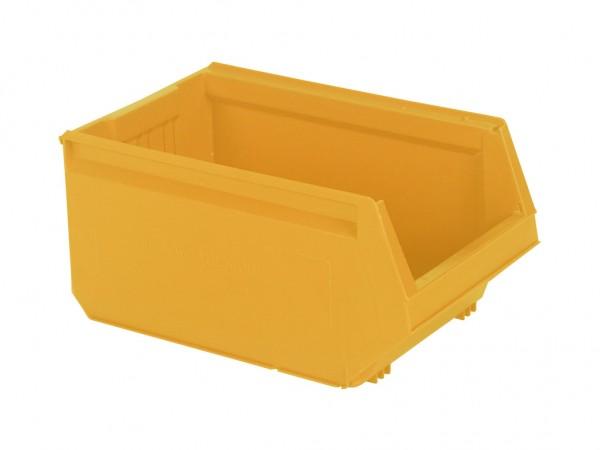 Sichtlagerkasten Kunststoff - 500x310xH250mm - Orange-Gelb