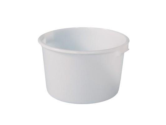 Bottich aus Kunststoff 85 Liter - heavy duty - Weiß
