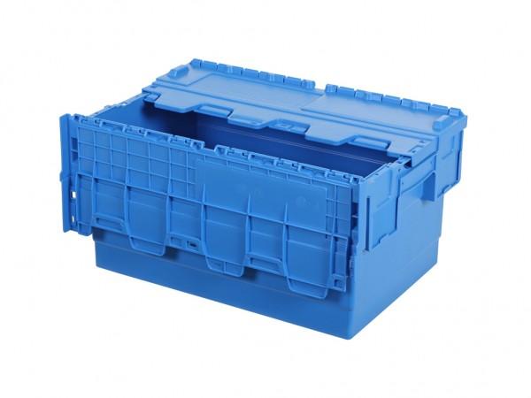 Distributionsbehälter - Mehrwegbehälter - 600x400xH315mm - Blau