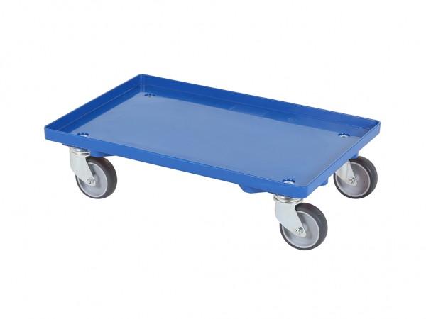 Transportroller - Rollwagen - 600 x 400 mm - Blau