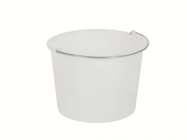 Eimer aus Kunststoff 20 Liter - heavy duty - Weiß