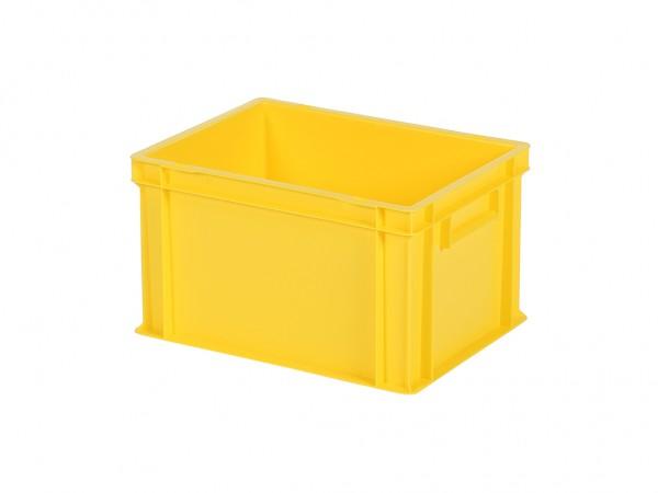 Stapelbehälter - Tellerbehälter - 400x300xH236mm - Gelb