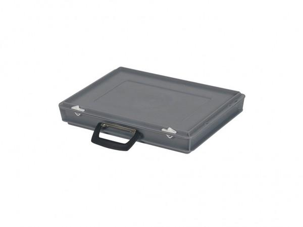 Kunststoffkoffer - 400x300xH65mm - Grau