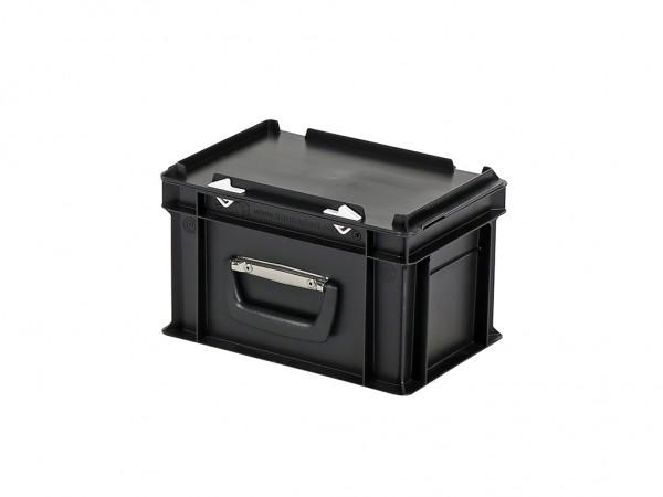 Kunststoffkoffer - 300x200xH190mm - Schwarz