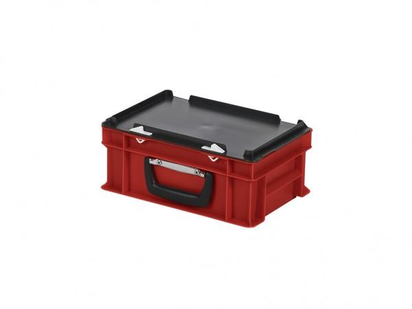 Kunststoffkoffer - 300x200xH133mm - Rot