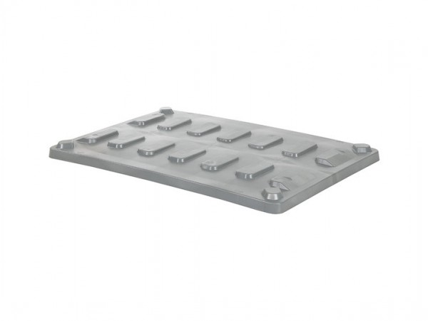 Aufliegedeckel 1200x800mm für CB1 Palettenboxen - Grau