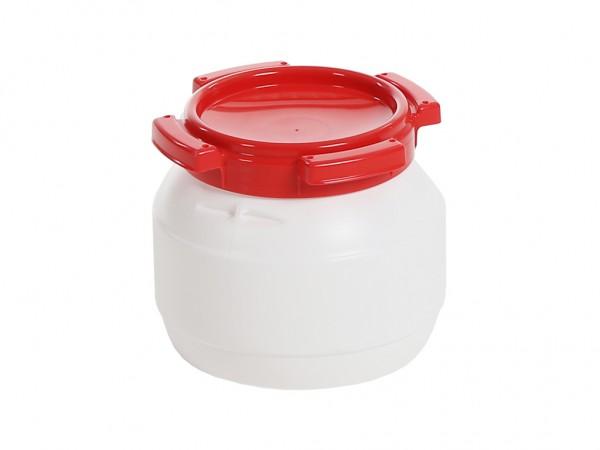 Weithalsfass 3,6 Liter - Futtertonne - Kanutonne