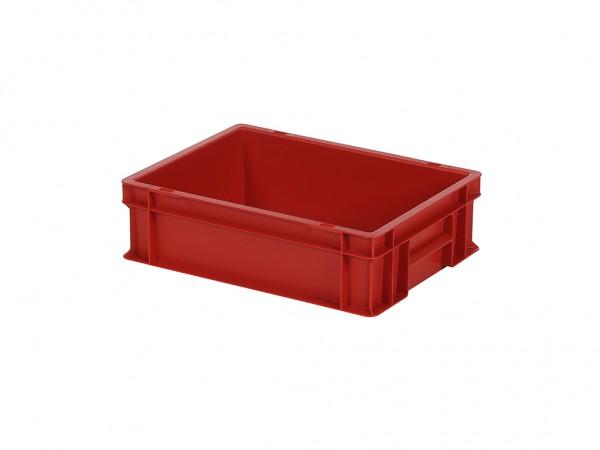 Stapelbehälter - 400x300xH120mm - Rot