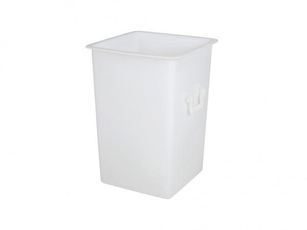 Transportbehälter aus Kunststoff 125 Liter - Weiß