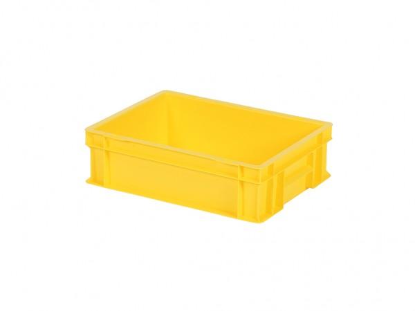 Stapelbehälter - 400x300xH120mm - Gelb