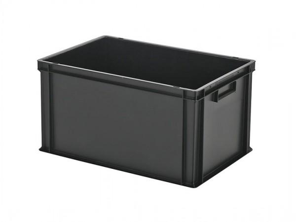 Stapelbehälter - 600x400xH320mm - Schwarz