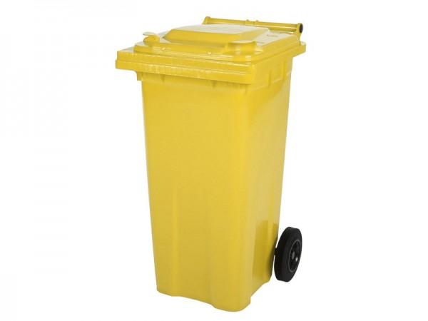 Mülltonne - 120 Liter - Gelb