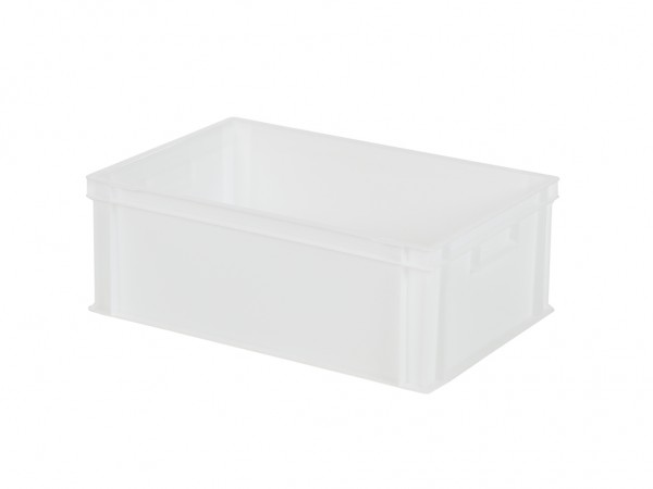 Stapelbehälter - 600x400xH220mm - Naturweiß