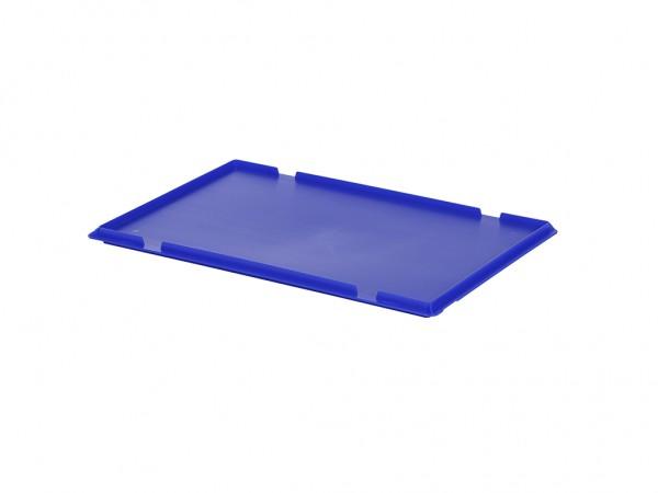 Aufliegedeckel 600x400mm - Blau